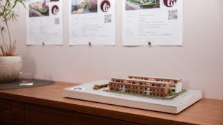 Modell Bauprojekt LÜ im Büro Sallier Immobilien