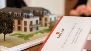 Broschüre Vermietung von Wohnraum für Eigentümer & Verwalter von Sallier Immobilien