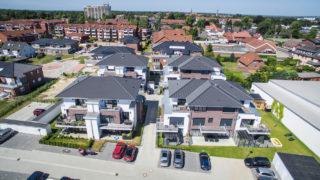 Immobilienmakler Sallier mehrere Wohnhäuser mit Eigentumswohnungen und Mietwohnungen