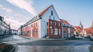Gebäude von Sallier Immobilien Makler für Häuser, Wohnungen und Gewerbe in Lüneburg