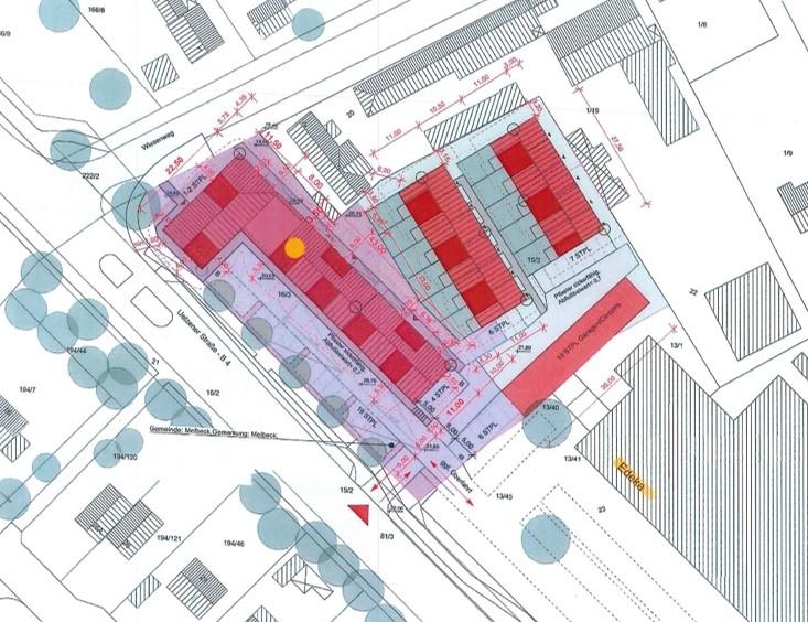 MELBECK  -  NEUBAU Gewerbeflächen und Wohnungen - Bild1